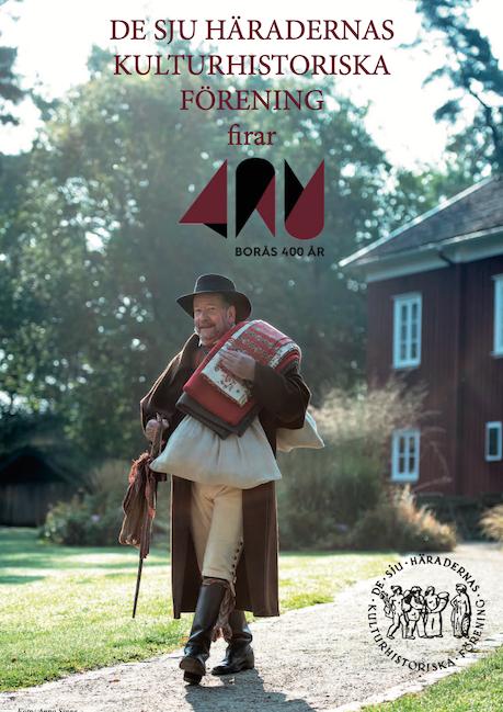 Framsida programfolder Borås 400 år